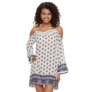 BOGO50% Cold Shoulder Dress